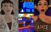 Suzanne Vega, Journey, and Aimee the Scary Blowup Doll.