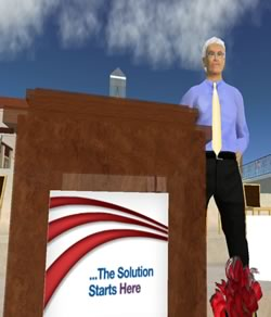 The Virtual Newt Gingrich