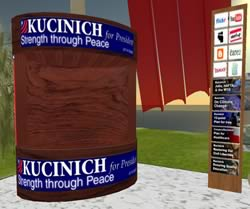 Kucinich HQ in Second Life