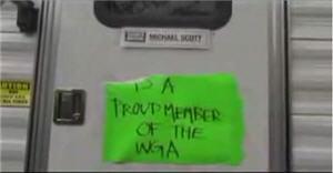 Michael Scott is a Proud Member of the WGA